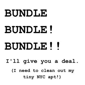Other - I want to clean out my tiny NYC apartment!